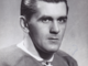 Maurice Richard Autographed Photo 1945 Montreal Canadiens