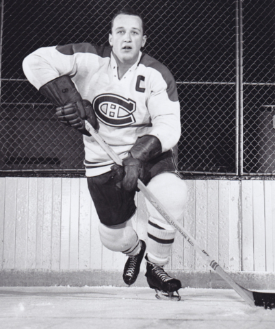 Al Langlois 1960 Montreal Canadiens
