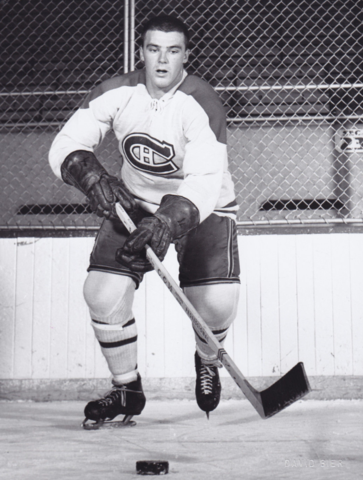Jean-Guy Talbot 1960 Montreal Canadiens