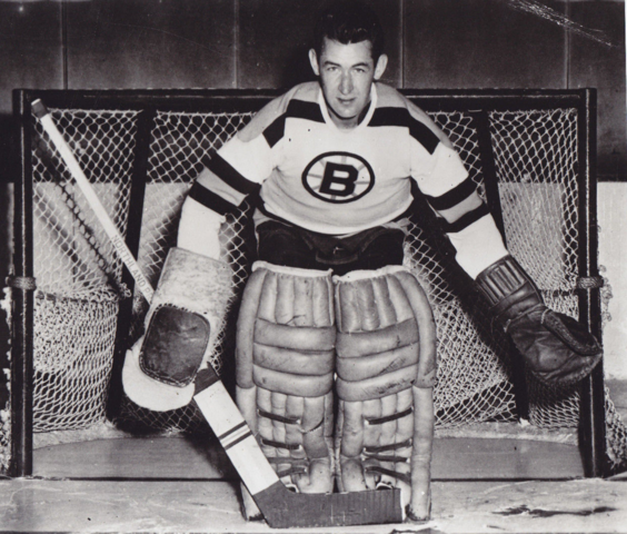 Jack Gelineau 1950 Boston Bruins