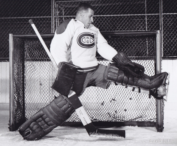 Gerry McNeil 1956 Montreal Canadiens
