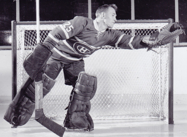 Charlie Hodge 1958 Montreal Canadiens