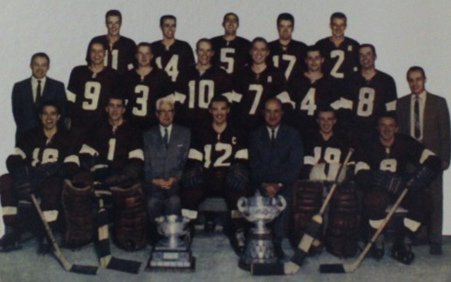 Chatham Maroons Allan Cup Champions 1960 J. Ross Robertson Trophy Champions