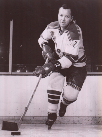 Doug Harvey 1962 New York Rangers