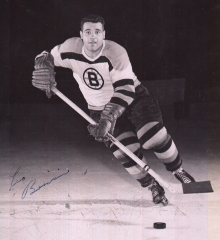 Léo Boivin 1957 Boston Bruins
