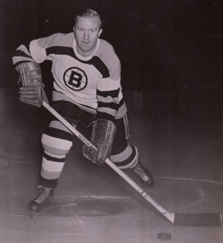 Bill Quackenbush 1952 Boston Bruins