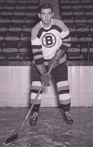Johnny Peirson 1951 Boston Bruins