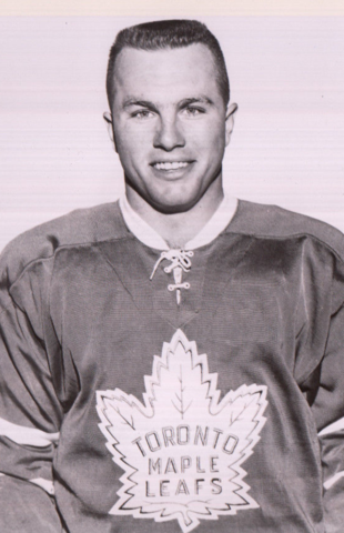 Ron Ellis Toronto Maple Leafs 1965