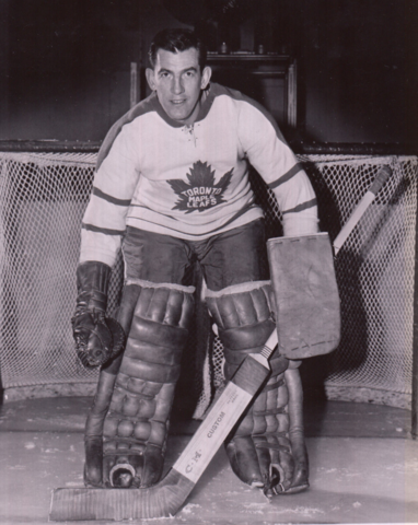 Don Simmons 1962 Toronto Maple Leafs