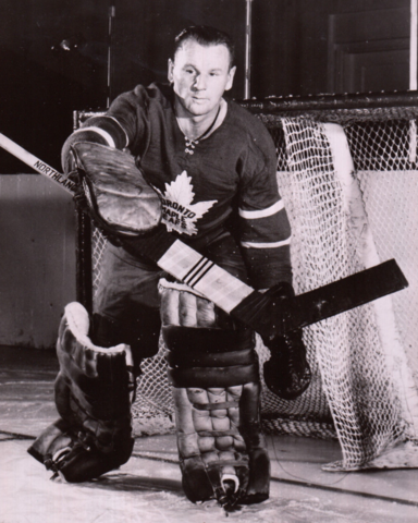 Johnny Bower 1961 Toronto Maple Leafs