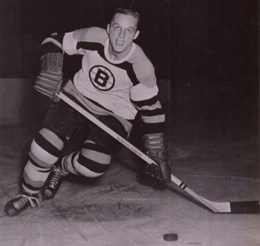 Doug Mohns 1954 Boston Bruins