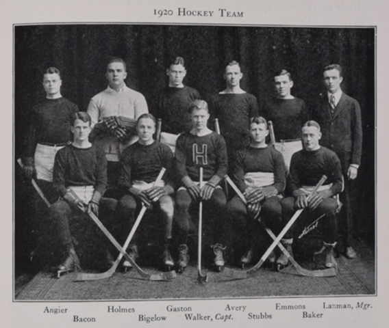 Harvard Ice Hockey Team 1920 Harvard Crimson Ice Hockey Team