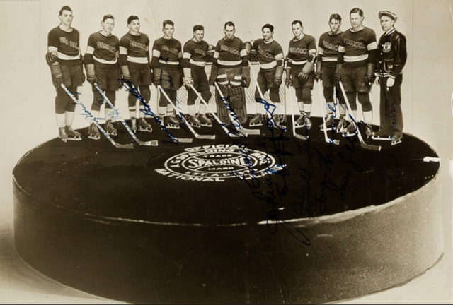Seattle Sea Hawks Hockey Team 1936 North West Hockey League