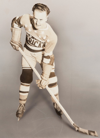 "Charles ""Rabbit"" McVeigh 1933 New York Americans"