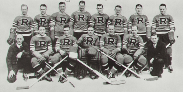 Philadelphia Ramblers 1936 Canadian-American Hockey League Champions