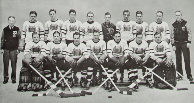 Detroit Olympics 1936 International Hockey League Champions