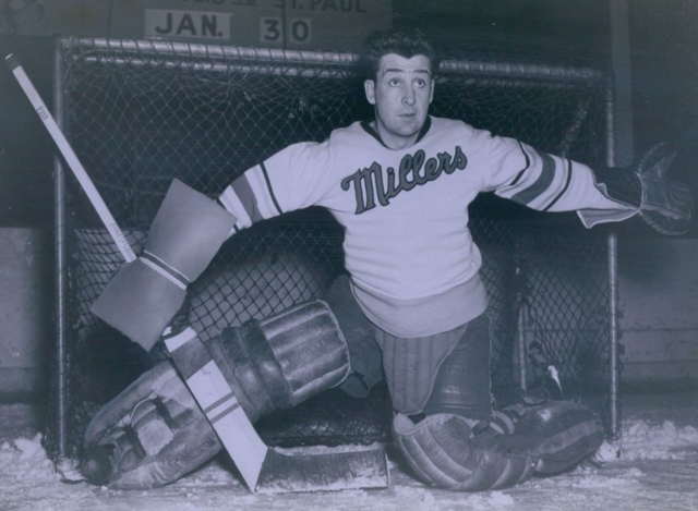 Harry McQueston Minneapolis Millers 1948 United States Hockey League