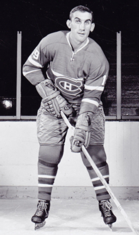 Lou Fontinato 1962 Montreal Canadiens