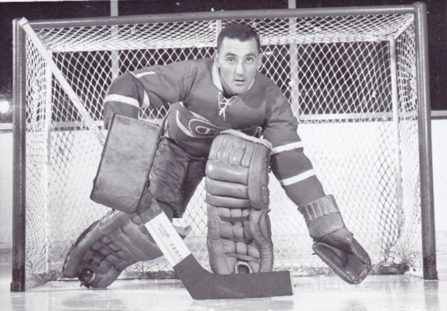 Jacques Plante 1957 Montreal Canadiens