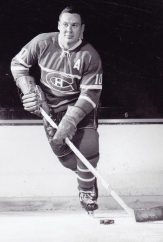 Tom Johnson 1957 Montreal Canadiens