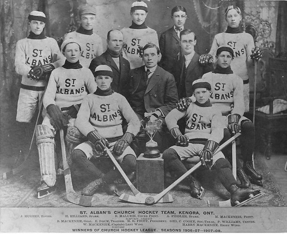 St Albans Church Hockey Team 1907–08
