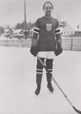 Ding Palmer 1932 United States Olympic Hockey Team