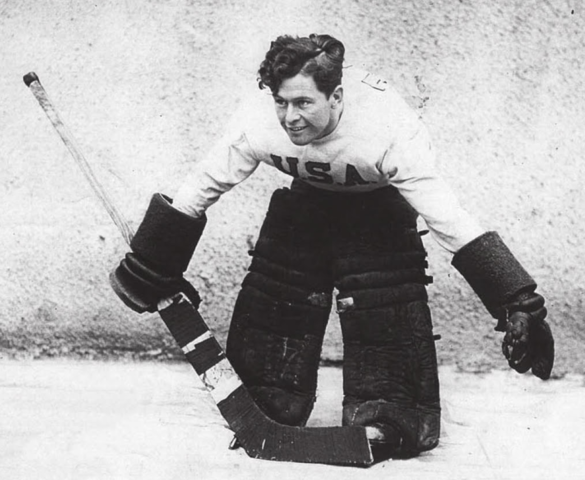 Gerry Cosby 1933 World Ice Hockey Champion Goaltender for USA Hockey