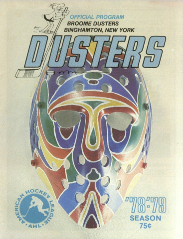 Broome Dusters Hockey Program - October 27, 1978