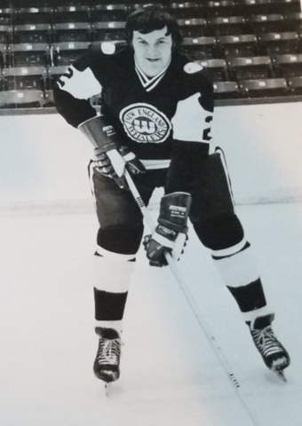 Rick Lee 1973 New England Whalers