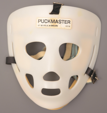 Vintage Goalie Mask - Puckmaster by Stall & Dean 1970s