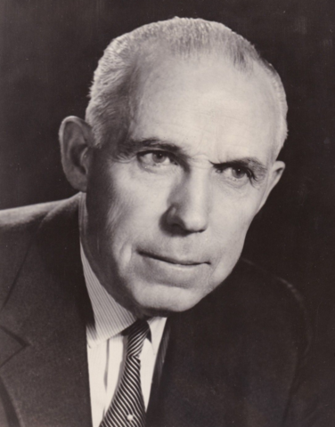 Clarence Campbell National Hockey League President 1946