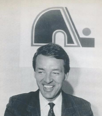 Pierre Pagé 1991 Quebec Nordiques Coach & General Manager