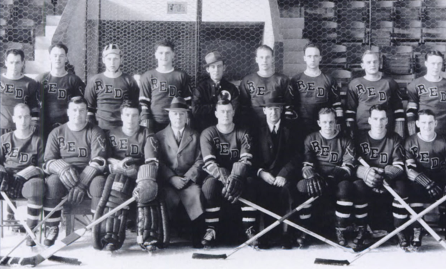 Providence Reds 1938 Calder Cup Champions