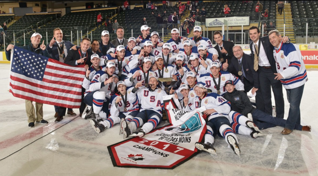 United States 2017 World Under-17 Hockey Challenge Champions
