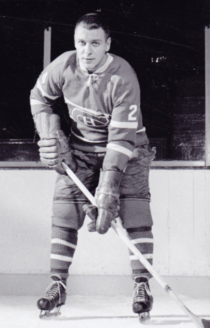 Gilles Tremblay 1960 Montreal Canadiens