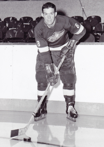 Barry Cullen 1960 Detroit Red Wings