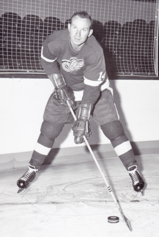 Jack McIntyre 1960 Detroit Red Wings