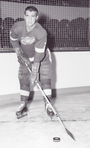 Claude LaForge 1958 Detroit Red Wings