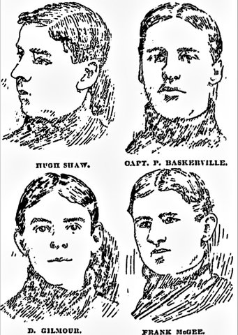 Ottawa Aberdeens Intermediate Players 1899