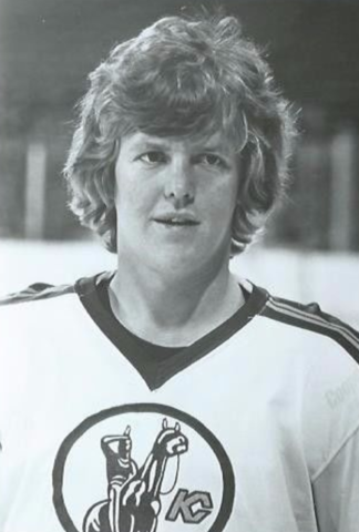 Buster Harvey 1975 Kansas City Scouts