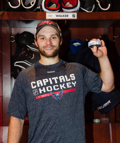 Nathan Walker 1st Australian to Score a NHL Goal on October 7, 2017