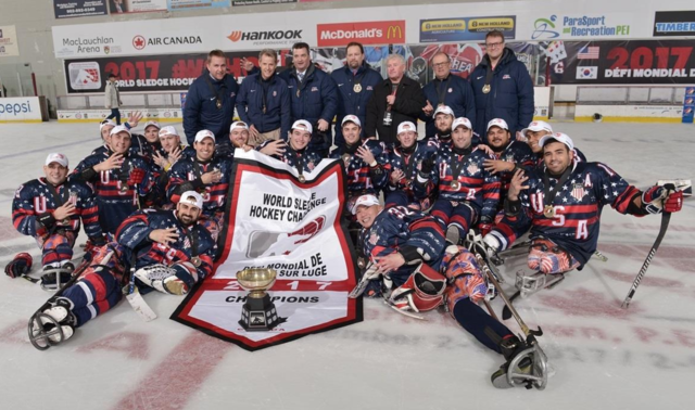 U.S. National Sled Hockey Team 2017 World Sledge Hockey Challenge Champions