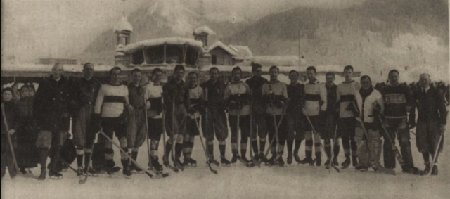 Oxford University Ice Hockey Club & Wiener Eislauf-Vereinof at 1st Spengler Cup