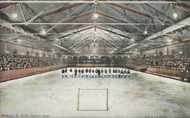 The Duquesne Gardens - World's Largest Indoor Ice Rink / Hockey Arena 1901
