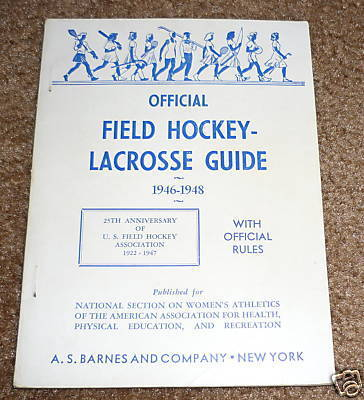 Field Hockey Guide 1946