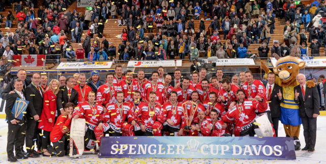 Team Canada 2017 Spengler Cup Champions