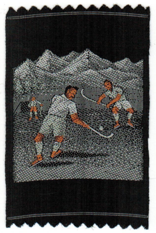 Turmac Tobacco Silk 1930 Turmac Field Hockey Silk
