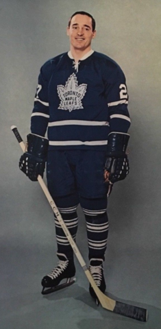 Frank Mahovlich 1966 Toronto Maple Leafs