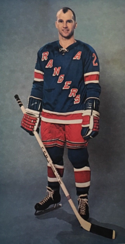 Don Marshall 1966 New York Rangers