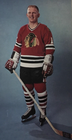 Pat Stapleton 1966 Chicago Black Hawks